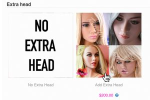 New Extra Doll Head Add-ons!