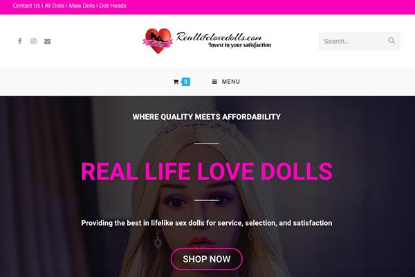 Reallifelovedolls.com's New Look